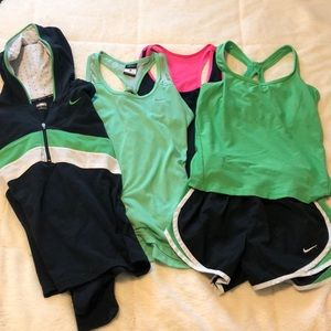Nike athletic clothes package! Size s